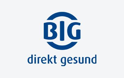 Logo der BIG direkt gesund