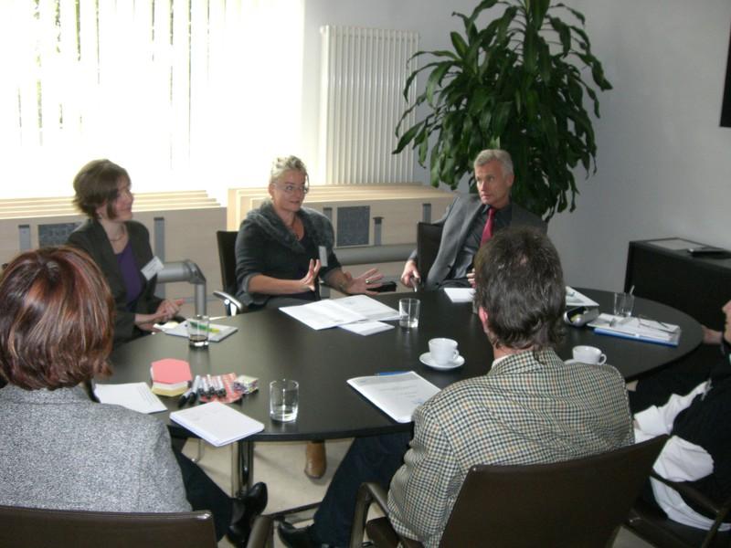 in Arbeitsgruppen diskutierten die Netzwerker der Innungskrankenkassen gesundheitspolitische und kassenrelevante Themen.