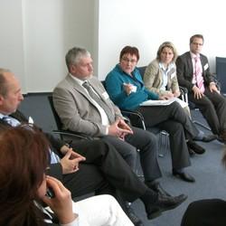 Im Mittelpunkt des Netzwerkertreffens stand auch der Austausch untereinander.