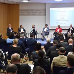 Diskussionsrunde bei 19. Plattform Gesundheit zum Thema Morbi-RSA